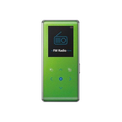 Samsung YP K3 JAG Tragbarer MP3-Player 4 GB mit FM Tuner grün
