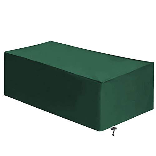 ZGQ Funda para Muebles de Jardín 90x90x40cm, Cubierta de Mesa al Aire Libre, Fundas de Invierno, Impermeable, Resistente al Viento, Resistente al Polvo, Tela Oxford Resistente