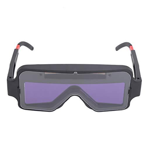 Eujgoov Soldador Gafas protectoras Pantalla de atenuación automática con gafas profesionales Oferta de despedida (YZ04)