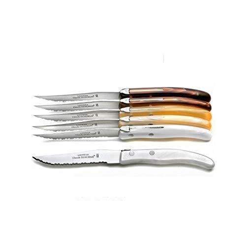 LAGUIOLE - Coffret 6 couteaux mélange\