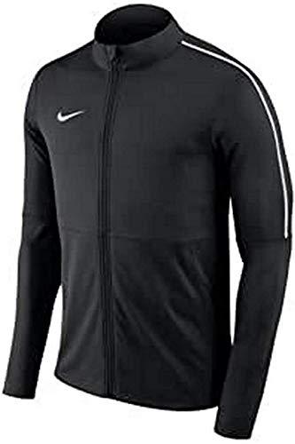 Nike Kinder Dry Park18 Football Jacket, Black/White, M