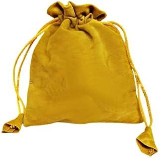 Fabric JWELLERY POTLI Golden(Big Size 5 x 6) MOQ 100