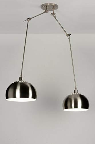 Lumidora Pendelleuchte Modern Retro Stahl Metall
