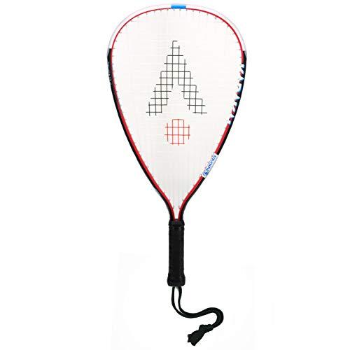 Karakal KQ 4727 CRX Tour - Raqueta de squash unisex, color negro y rojo, talla única