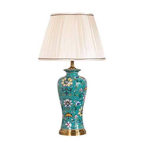 Lampe de table en céramique vintage salon étude chambre lampe de table de chevet
