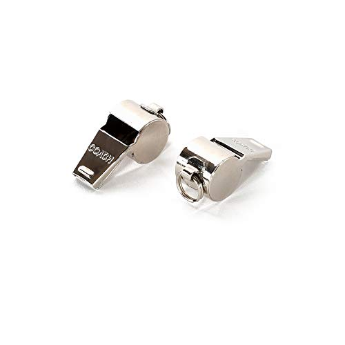 American Whistle Corporation Nickel Plated Coaches Whistle -...