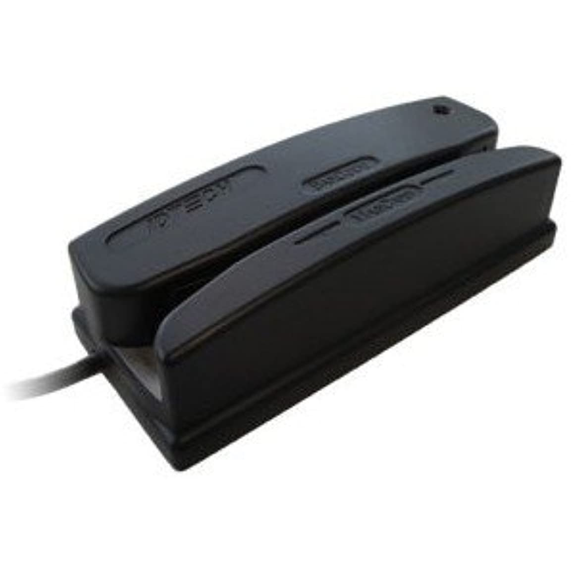 Idtech WCR3237-733U Omni Barcode and MagStripe Reader, Track 1, 2, and 3, USB, Black