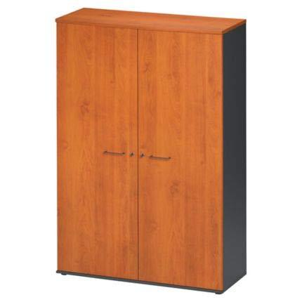 Gautier Office Jazz Armoire 2P L.120 Couleur Chêne Gris