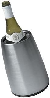 Vacu Vin 3049346 Vacu Vin Prestige Stainless-Steel Tabletop Wine Cooler