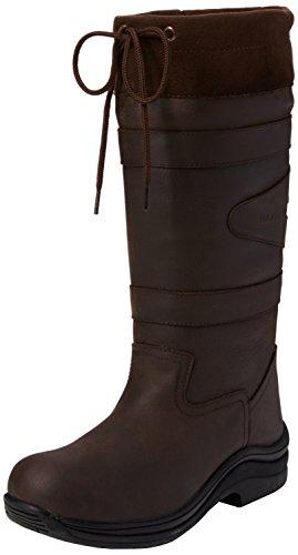 Toggi TOGGI Unisex-Kinder Ravine Children's Country Boot Reitsportschuhe, Braun (Chocolate), 37 EU