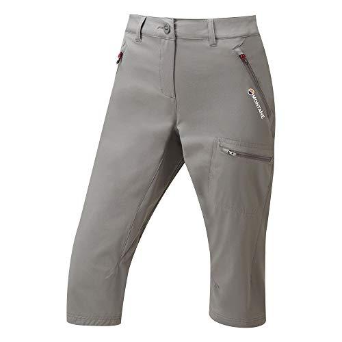 MONTANE Dyno Stretch Capri Womens Walking Pants Medium Mercury