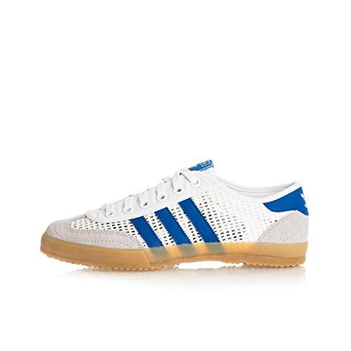adidas Originals Tischtennis, Footwear White-Grey Two-Team royal Blue, 4,5