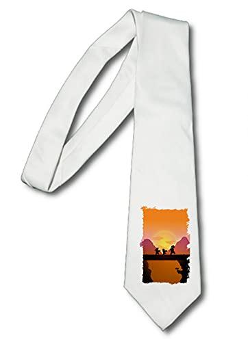 MERCHANDMANIA Corbata Elegante Dragon Ball Goku Krilin Maestro Suave Poliester