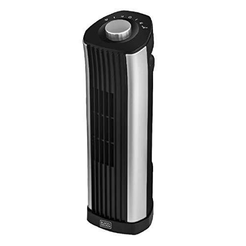 BLACK+DECKER Mini Tower Fan - Quiet Oscillating Stand up 14 Inch Desk Fans