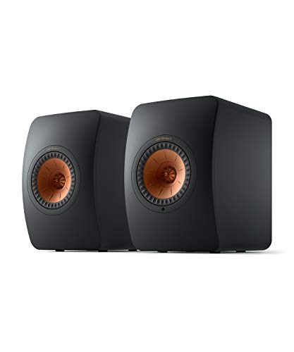 KEF LS50 Wireless II (Pair, Carbon Black)