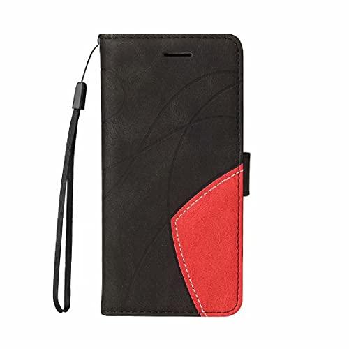 Handyhülle für Oppo F7 Hülle Leder, Oppo F7 Lederhülle Klapphülle Handytasche Tasche Leder Wallet Book Hülle für Oppo F7 Schutzhülle Handy Hüllen,