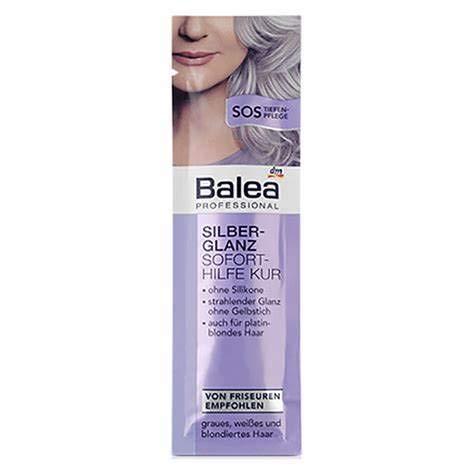 Balea Professional Sofort Pflege Kur Silberglanz, 1 x 20 ml