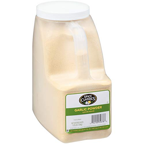 Spice Classics Garlic Powder, 5.25 lbs
