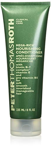 Peter Thomas Roth Mega-Rich Nourishing Conditioner, Biotin B-7 Complex Conditioner for Softer,...