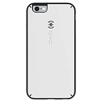 Speck Products MightyShell Case for iPhone 6 Plus/6S Plus - White/Charcoal Grey/Slate