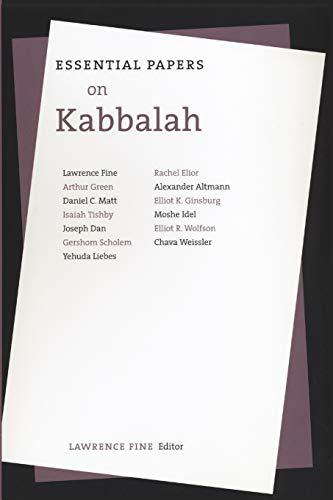Essential Papers on Kabbalah (Essential Papers on Jewish Studies, 7)