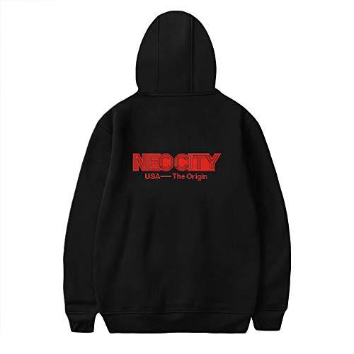 Nct 127 Pullover Street Style Pullover Warme Verdickungspullover Atmungsaktive Hoodies Gemusterte Sweatshirts für Herren Unisex (Color : A26, Size : XXL)