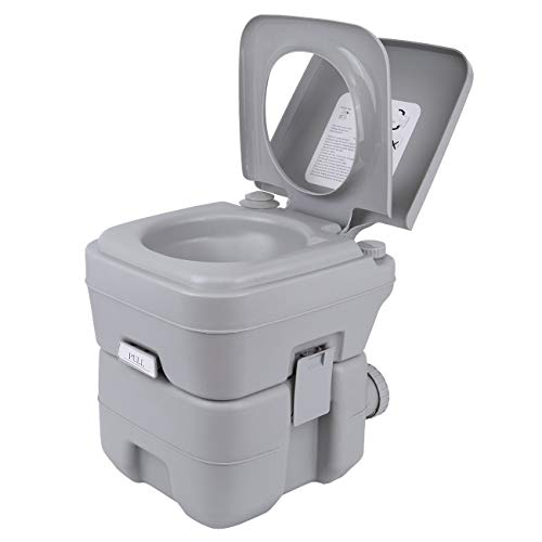 Samger Samger Portable Camping Toilet Travel 20L Chemical Removable Toilet for Motorhome Caravan