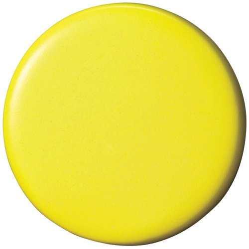 両面強力カラーマグネット30 (コーティングタイプ) 黄