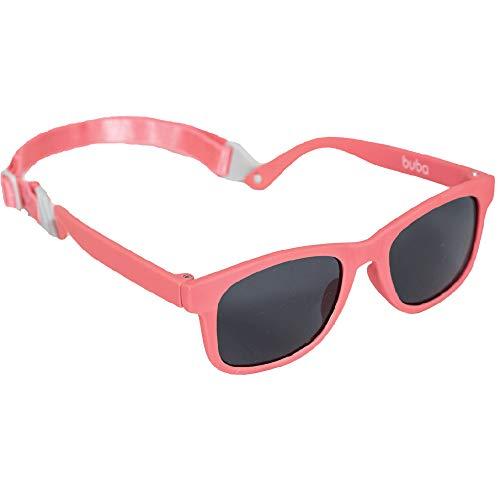 Óculos De Sol Baby - Alca Ajustável Rosa, Buba, Rosa