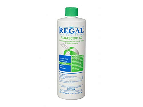 Regal Poly Algaecide Bottle Swimming Pools