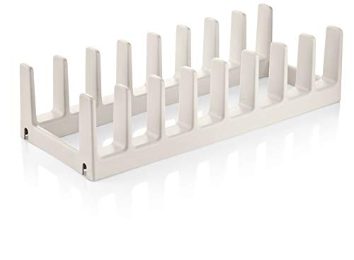 Tescoma 899480 FlexiSPACE Porta Coperchi, Bianco