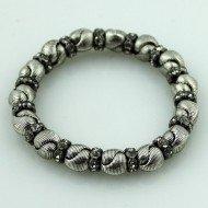 Joli Tapis couleur argent bracelet cristaux d & X Londres de Races