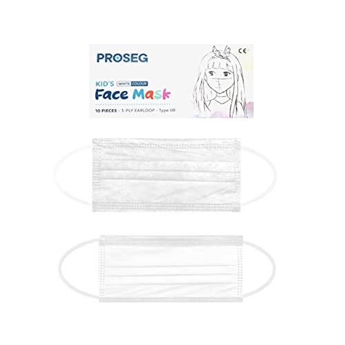 Kinder OP Maske 3-lagige Einweg Masken Medizinisch 20 Stk. / Box - weiß