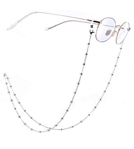 Cooltime - Accesorio elegante para gafas de acero inoxidable (30,7 pulgadas)