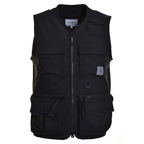 Carhartt - giacca carhartt elmwood vest black - xl