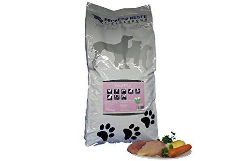Beckers Beste - Trockenfutter Hund Adult Plus mit Geflügel 5kg - glutenfrei- Junghund, Adult & Senior - Hundefutter große und kleine Hunde-Rassen