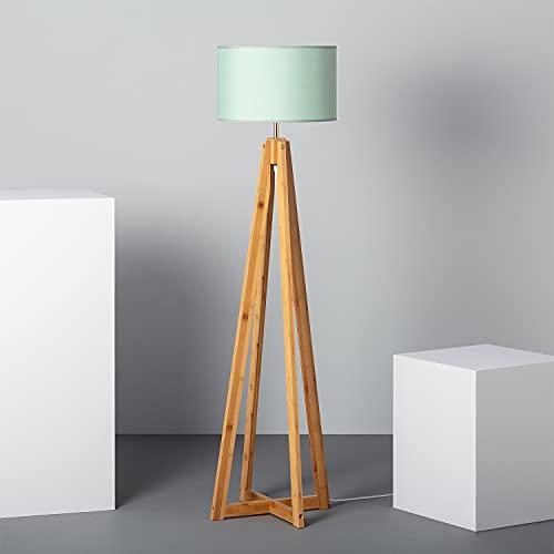 LEDKIA LIGHTING Lámpara de Pie Korsade Verde
