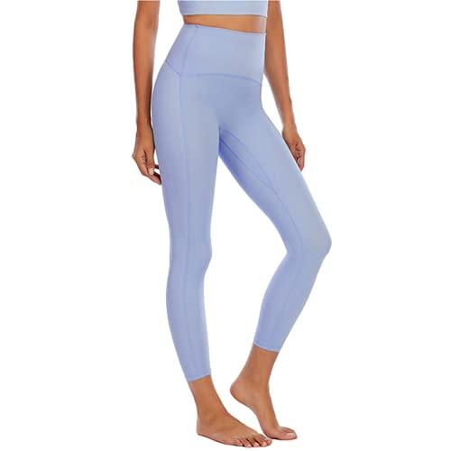 QTJY Pantalones de Yoga Delgados sexys para Mujer, Cintura Alta, Nalgas, absorbentes del Sudor, Fitness, Push-ups, Pantalones de Entrenamiento para Celulitis, B XL