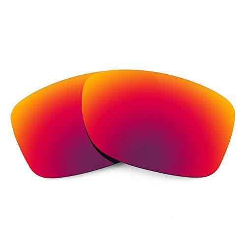 Revant Lentes de Repuesto Compatibles con Gafas de Sol Oakley Jupiter Carbon, Polarizados, Sol de Medianoche MirrorShield