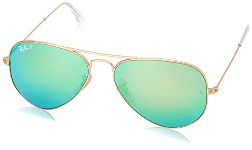Ray-Ban Gafas de Sol AVIATOR MOD. 3025 Polarized (55 mm) Verde