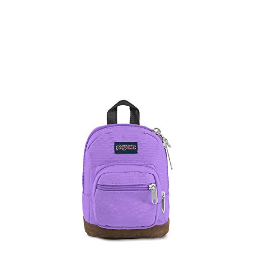 JanSport Right Pouch Miniature Backpack - Shrunken Down Tote For Accessories | Purple Dawn