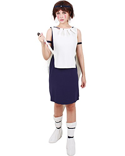 Princess Mononoke Cosplay Costume