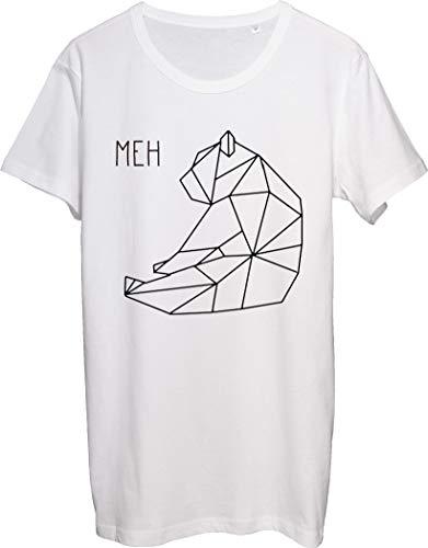 Meh Bear Origami - Camiseta para hombre, diseño de dibujo