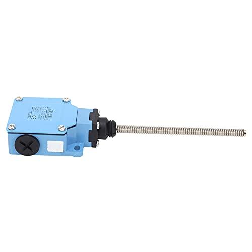 Microinterruptor, carcasa de metal de aleación de cinc, interruptor de presión, fuerte y fiable en la corrosión para máquinas de construcción.