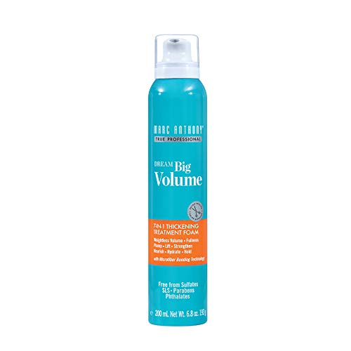 Marc Anthony Dream Big Volume 7-in-1 Thickening Treatment Foam, 6.8 Fluid Ounce