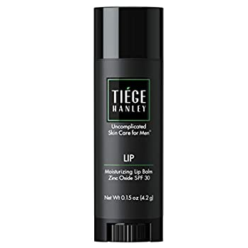 Tiege Hanley Hydrating Lip Balm for Men  LIP  | SPF 30 to Protect Against Dry Air Wind and Sun | 0.15 Ounces