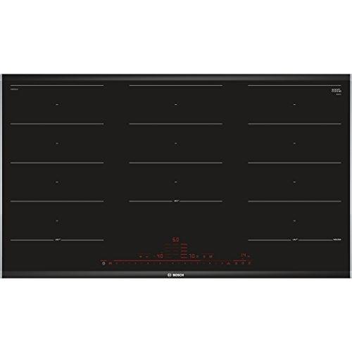 Bosch Serie 8 PXX975DC1E Incasso A induzione Nero, Acciaio inossidabile piano cottura