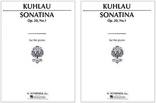 (2 Copies) Sonatina, Op. 20, No. 1 in C Major Friedrich Kuhlau Ludwig Klee