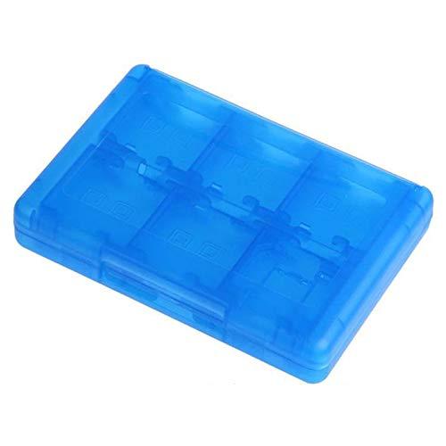 ACAMPTAR Blau 28 in 1 Spiel Speicherkarte Micro-Huelle Fuer NDS NDSi LL 2DS 3DS XL Neue 3DS LL XL Patrone Aufbewahrungsbox