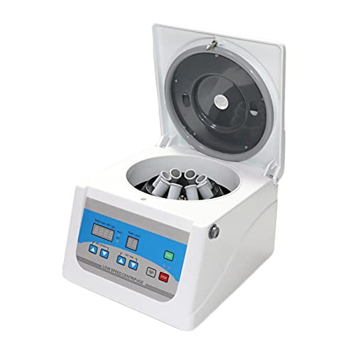 PRP Centrifuge - 10/15ml Lab Benchtop Centrifuges with Digital Display Laboratory Low Speed Desktop Centrifugal Machine 100-4000rpm